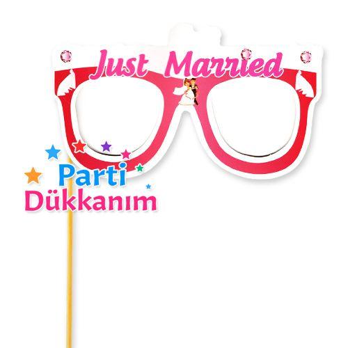 KJust Married Çubuklu Gözlük