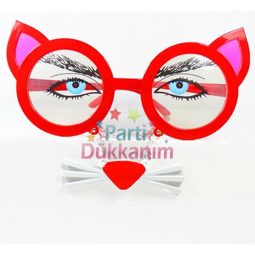 Kırmızı Kedi Gözlük