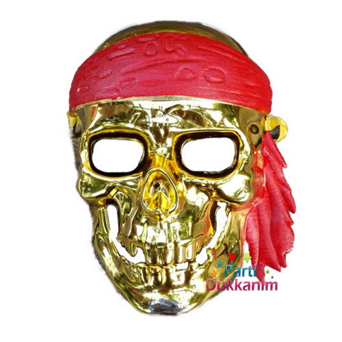 Korsan Maske Gold