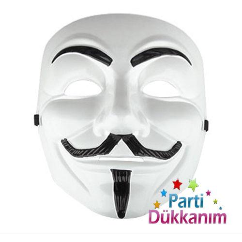 Vendetta Plastik Maske