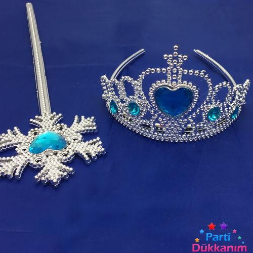 Frozen Elsa Taç Asa Set, fiyatı