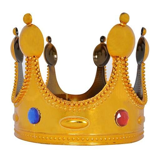 Kral Tacı Altın Renkli (Büyük)