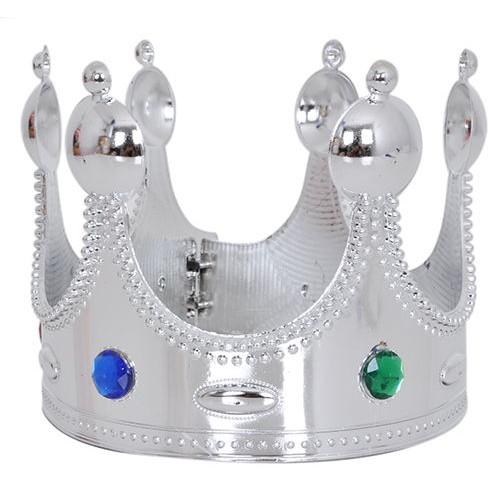 Kral Tacı Gümüş Renkli Büyük Parti Dükkanım