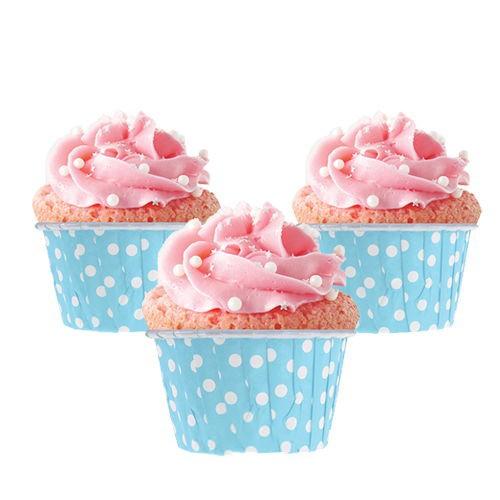 Açık Mavi Muffin Kek Kapsülü (25 adet), fiyatı
