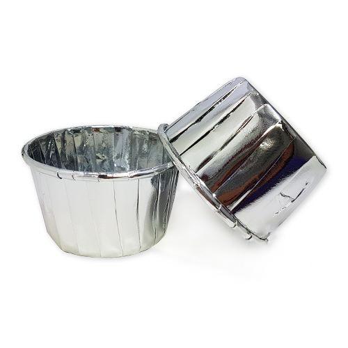 Gümüş Folyo Kek Kapsülü (25 adet), fiyatı