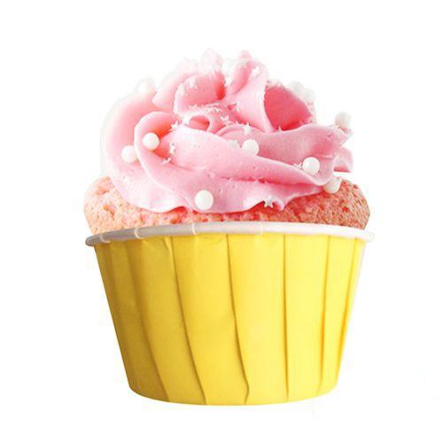 Sarı Muffin Kek Kapsülü (50 adet)
