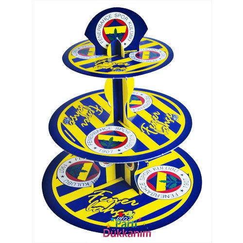Fenerbahçe Kek Standı 3 Katlı