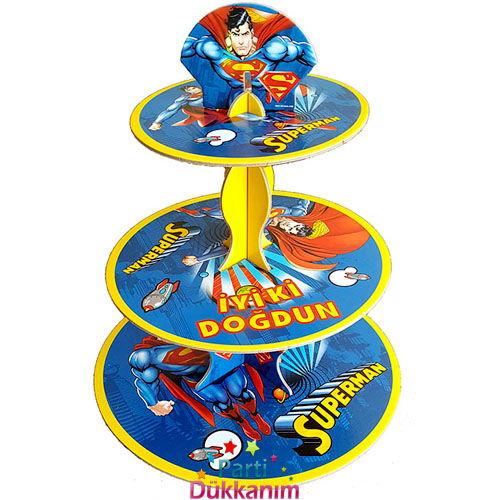 Superman Kek Standı 3 Katlı, fiyatı