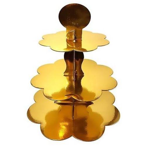 Dore Kek Standı (3 Katlı)