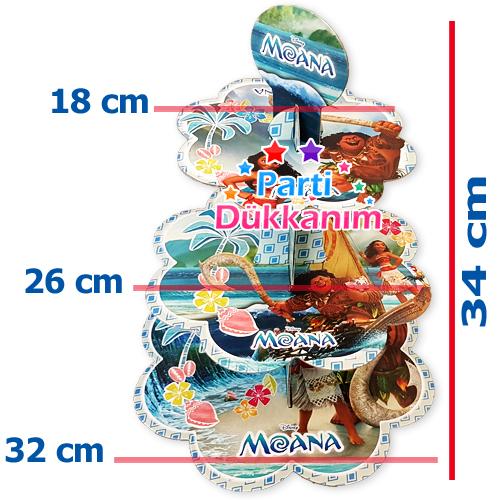 Moana Kek Standı 3 Katlı, fiyatı