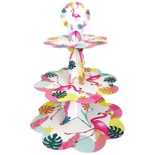 Flamingo Karton Kek Standı 3 Katlı, fiyatı