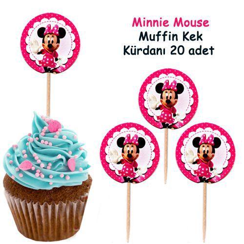 Minnie Mouse  Kürdan (20 Adet)