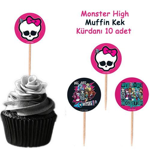 Monster High Kürdan 20 Adet