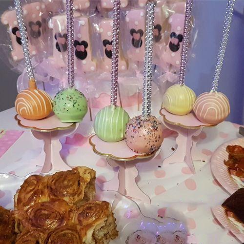 Muffin Kek Standı Pembe Özel Üretim (6 Adet), fiyatı