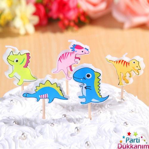 Dinozor Figürlü Mumlar, fiyatı
