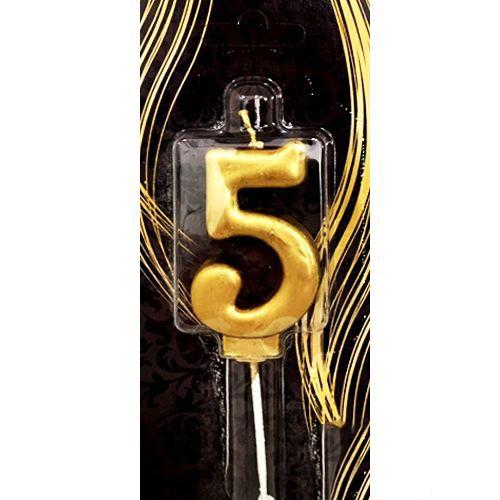 5 Yaş Mumu Gold