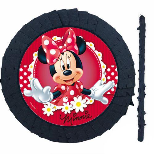 Minnie Mouse Pinyata Kırmızı (42 cm)