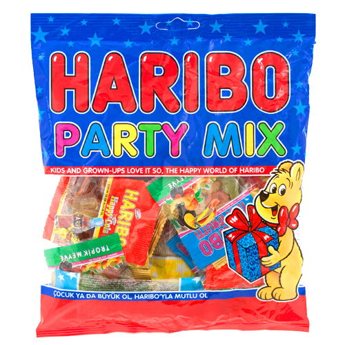 Haribo Party Mix (130 gr), fiyatı