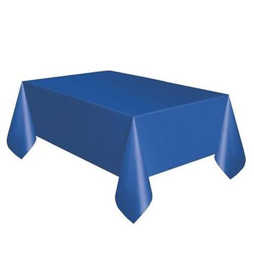 Lacivert Masa Örtüsü Plastik Lüks 137x183 cm