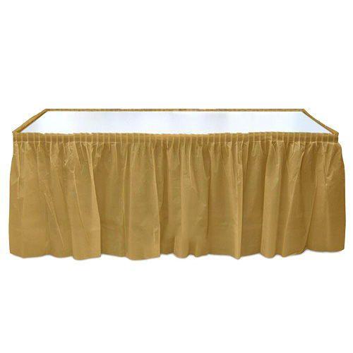 Gold Plastik Masa Eteği (75x426 cm), fiyatı
