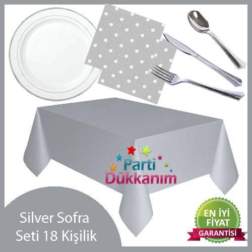 Silver Sofra Seti (18 Kişilik)