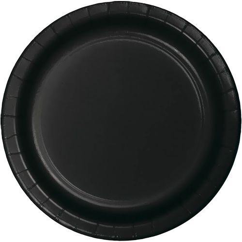 Siyah Karton Tabak (8 adet)