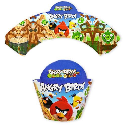 Angry Birds Cupcake Süsü (10 adet), fiyatı