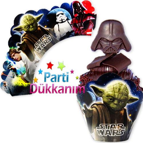 Star Wars Cupcake Süsü (10 Adet)