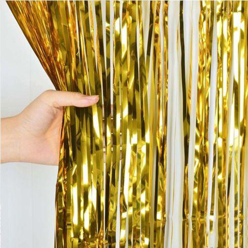Gold Işıltılı Masa ve Arka Fon Seti, fiyatı