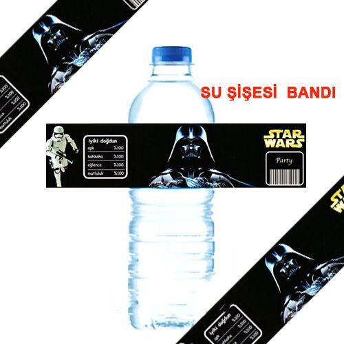 Star Wars Su Şişesi Bandı 8 Adet, fiyatı
