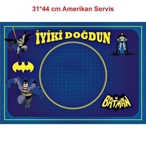 Batman Amerikan Servis (8 Adet)