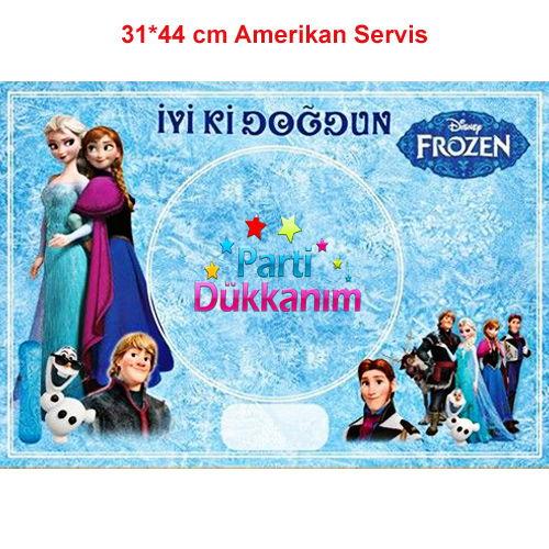 Frozen Amerikan Servis (8 Adet)