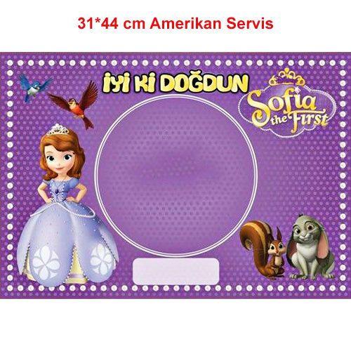 Sofia Amerikan Servis (8 Adet)