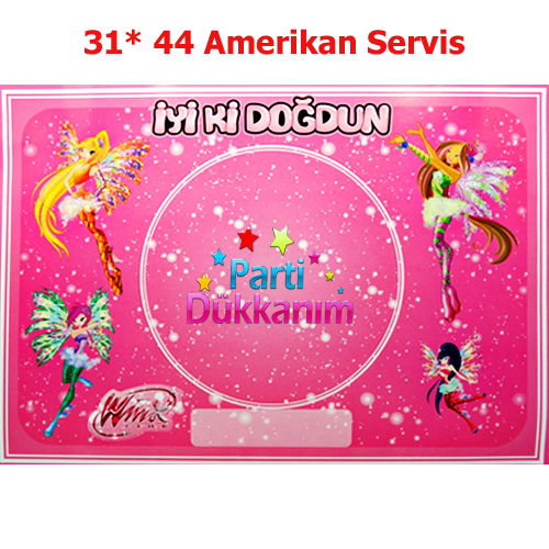 Winks Amerikan Servis (8 Adet)