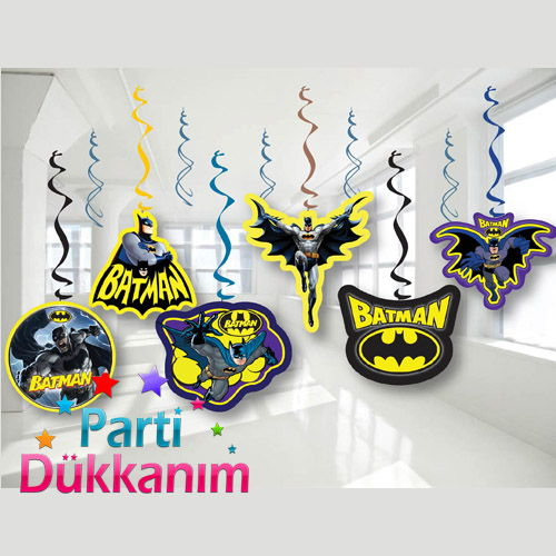 Batman Asmalı Tavan Süsü (6 Adet), fiyatı