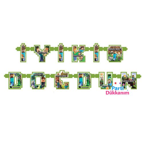 Minecraft İyiki Doğdun yazısı