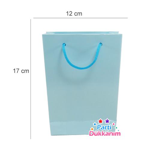 Karton Çanta Mavi 25 adet, fiyatı