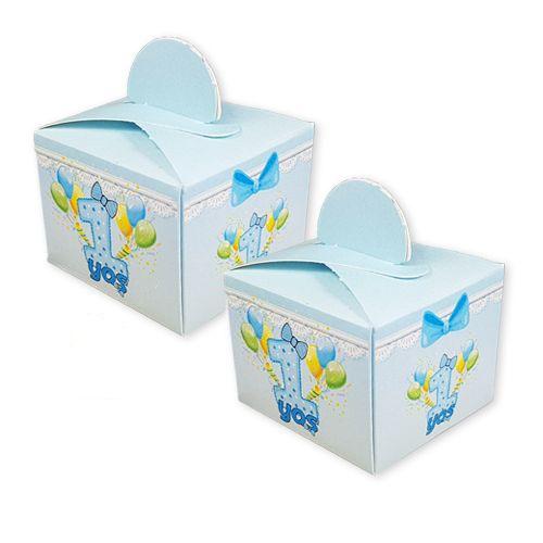 1 Yaş Mavi Lokum Kutusu (50 adet), fiyatı