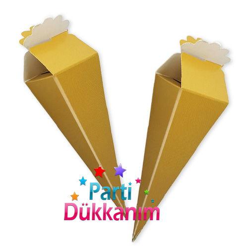 Dore (Gold) Şeker, Lokum Külahı (10 adet)