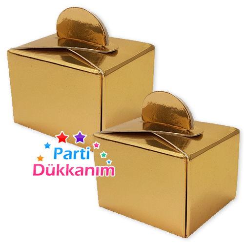 Lokum Kutusu Gold (50 adet), fiyatı