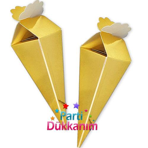Gold Parlak Şeker, Lokum Külahı (25 adet)