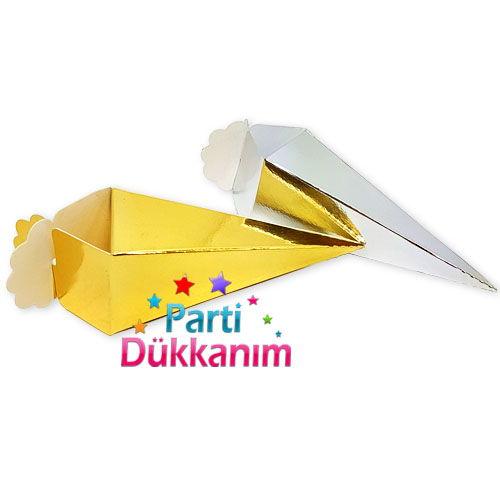 Gold Parlak Şeker, Lokum Külahı (25 adet), fiyatı