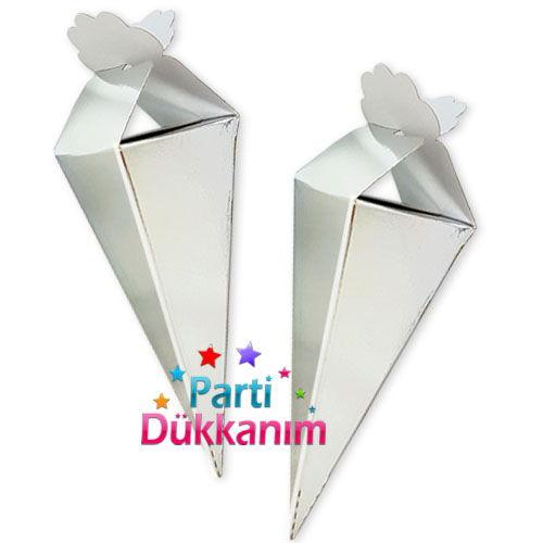 Gümüş Parlak Şeker, Lokum Külahı (25 adet), fiyatı