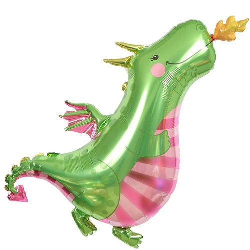 Dinozor Folyo Balon 60x110 cm, fiyatı