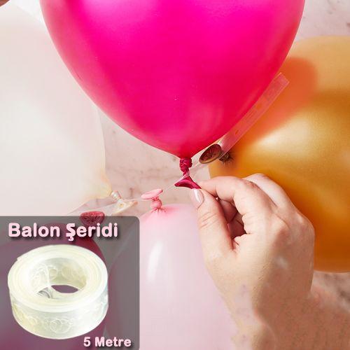 Balon Dekorasyon Şeridi (5 metre), fiyatı