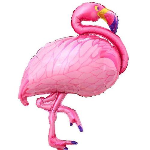 Flamingo Folyo Balon Pembe (100x50 cm), fiyatı