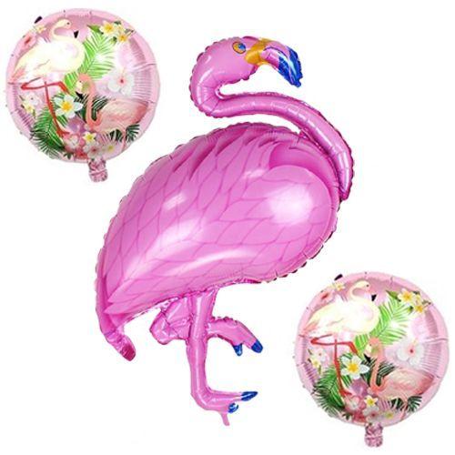 Flamingo Folyo Balon Set (3 adet), fiyatı