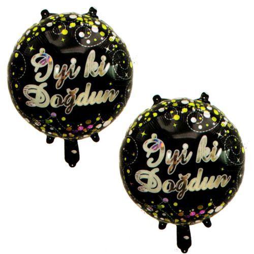 İyi Ki Doğdun Folyo Balon 2 Adet (43 cm)