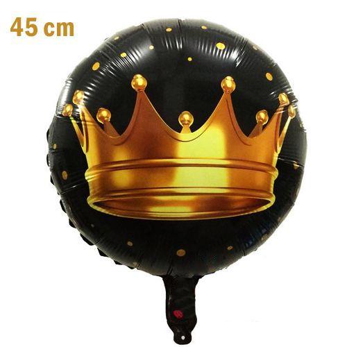 Kral Tacı Folyo Balon 45 Cm