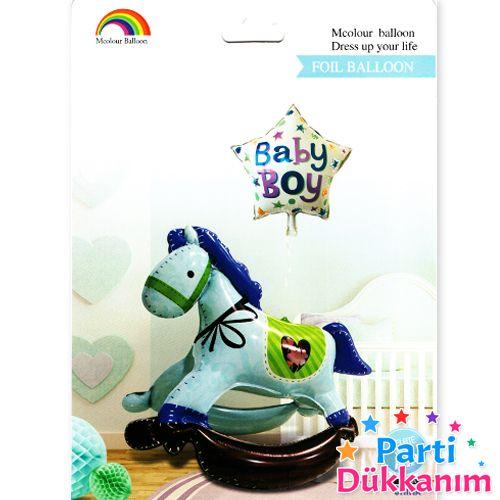 Baby Boy Sallanan At Folyo Balon (4D)